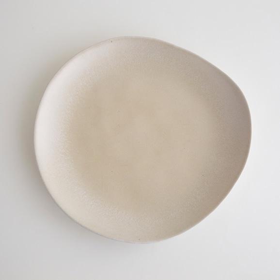 【写真】VAL DO SOL NORA Plate L ホワイト