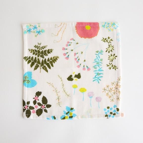 【写真】イイダ傘店 ミニタオル 森の花