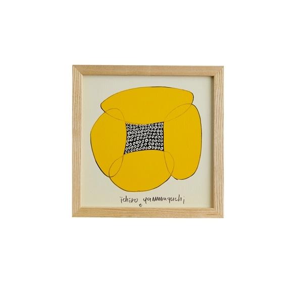 【写真】【定番品】山口一郎 「Hana-face yellow」