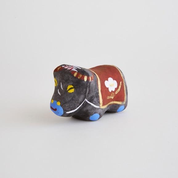 【写真】【丑の郷土玩具】土佐漆喰人形 牛