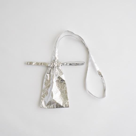 【写真】Drawstring Bag Strap メタル smartphoneサイズ