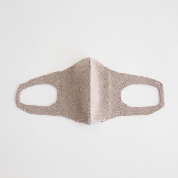 【写真】抗菌 洗える和紙ニットマスク ベージュ