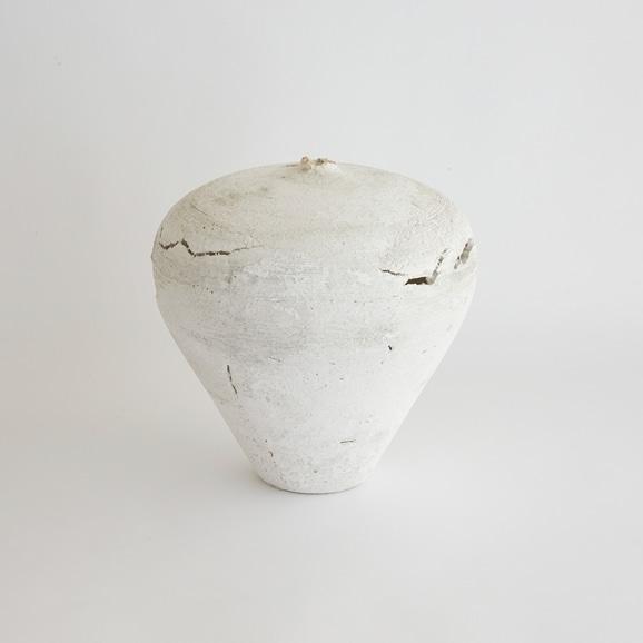【写真】井本真紀 ガラス 花器