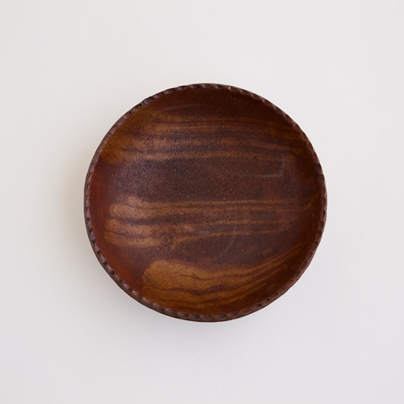 【写真】十場天伸 漆八寸鉢