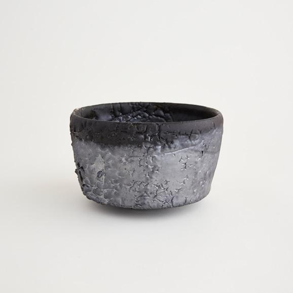 【写真】十場天伸 黒引き出し抹茶碗 A