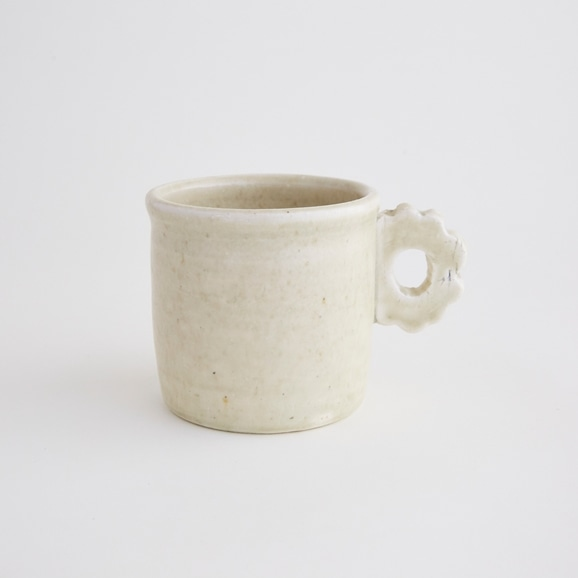 【写真】十場あすか お花耳つきマグカップ A