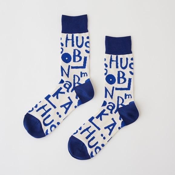 【写真】【IDEE TOKYO限定】柚木沙弥郎デザイン IDEE Daily Socks アルファベット L