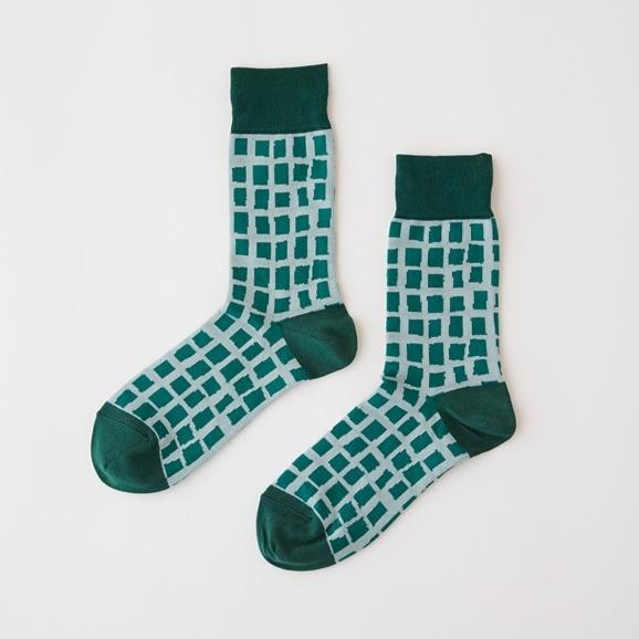 【写真】【IDEE TOKYO限定】柚木沙弥郎デザイン IDEE Daily Socks キューブ  L