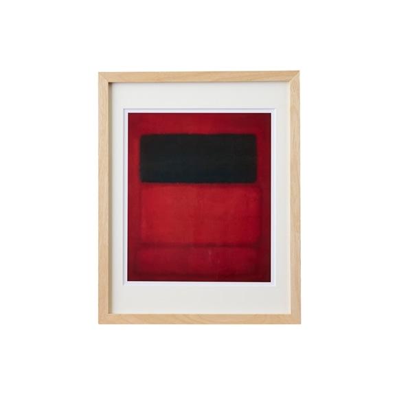 【写真】【定番品】マーク・ロスコ 「Black over Reds 」