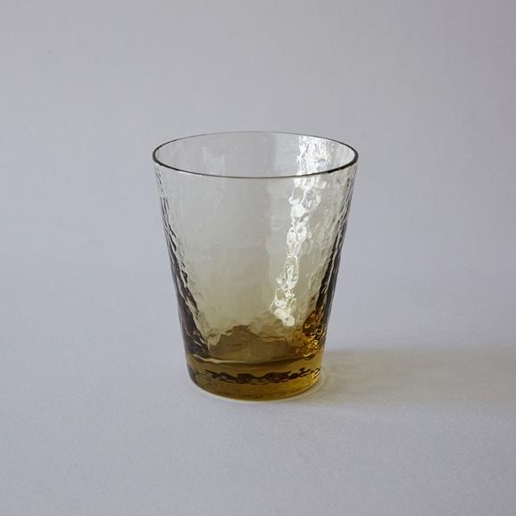 【写真】菅原工芸硝子 9オンスグラス タン