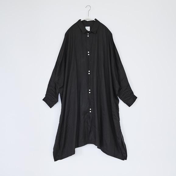 【写真】5W Poncho Shirts Black 2