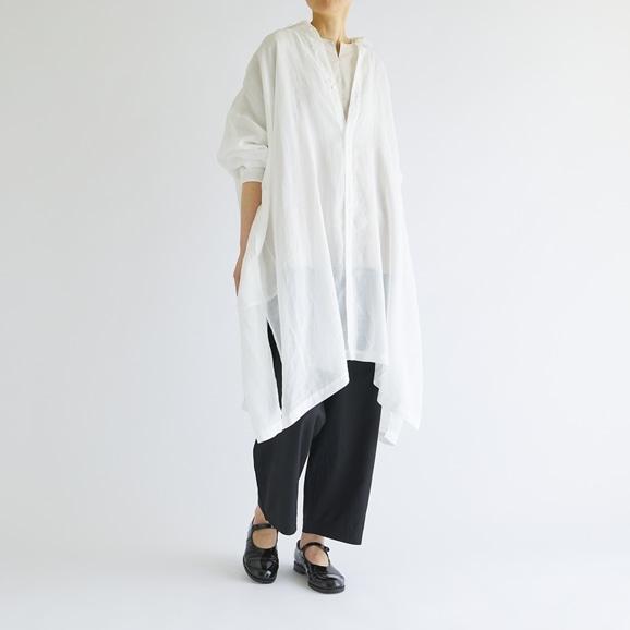 【写真】5W Poncho Shirts White 2