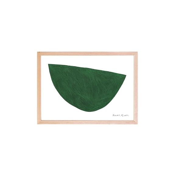 【写真】【定番品】ほりはたまお 「Green Moon」