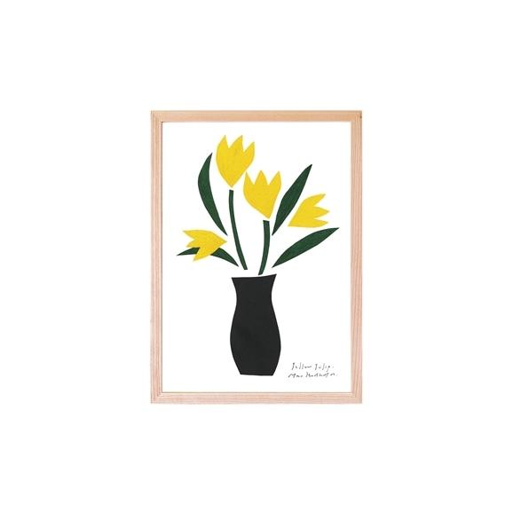 【写真】【定番品】ほりはたまお 「黄色のチューリップ」