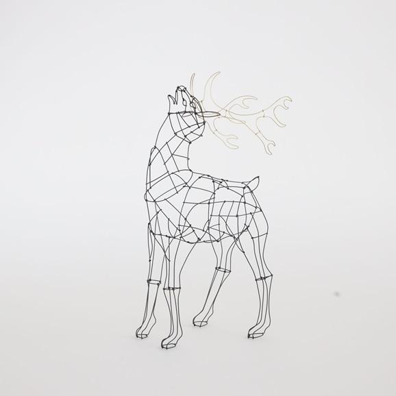 【写真】【一点物】山田一成 「星に願う鹿 A」