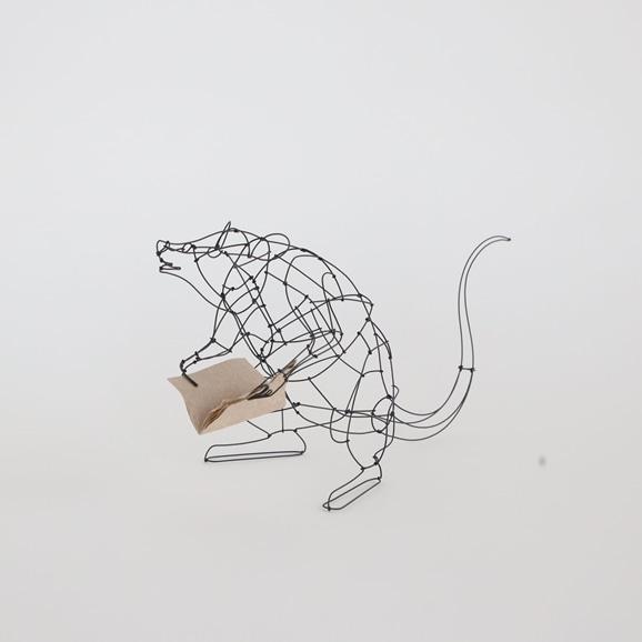 【写真】【一点物】山田一成 「おしゃべりネズミ (本)」