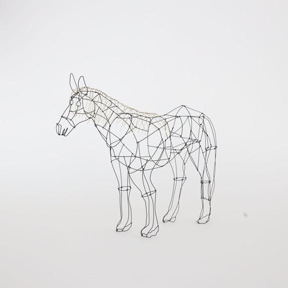 【写真】【一点物】山田一成 「毛の長い馬」
