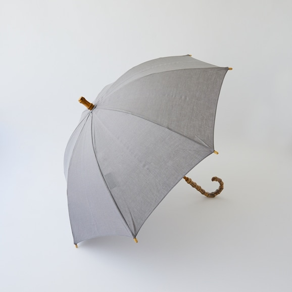 【写真】utilite 晴雨兼用長傘 グレー