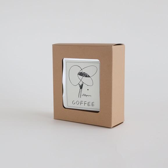 【写真】IDEEオリジナル 山口一郎ドリップコーヒー4Pセット