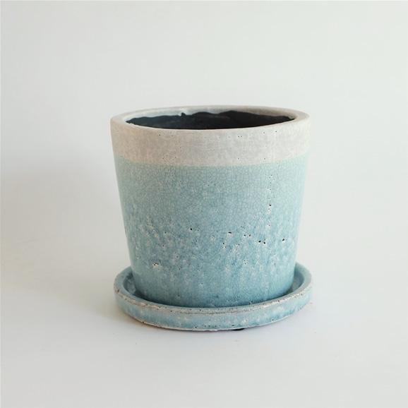 【写真】鉢 クレーパ ポット φ18cm ブルー