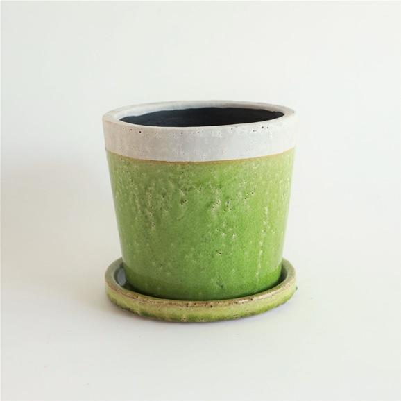 【写真】鉢 クレーパ ポット φ18cm グリーン