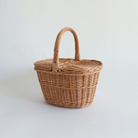 【写真】Latvian willow basket S
