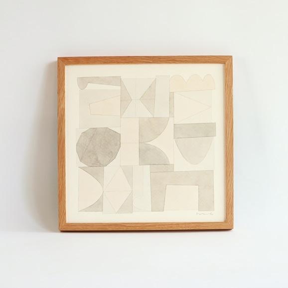【写真】【一点物】伊藤利江 水彩画30 「Abstract 01」