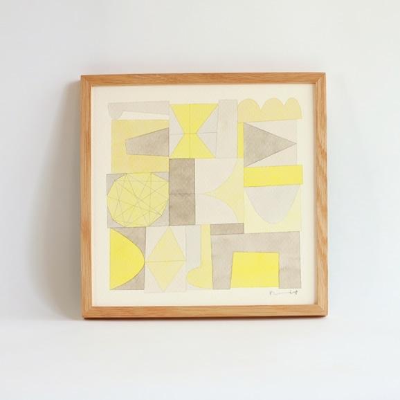 【写真】【一点物】伊藤利江 水彩画30 「Abstract 02」