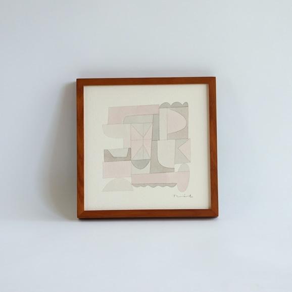 【写真】【一点物】伊藤利江 水彩画20 「Abstract 01」