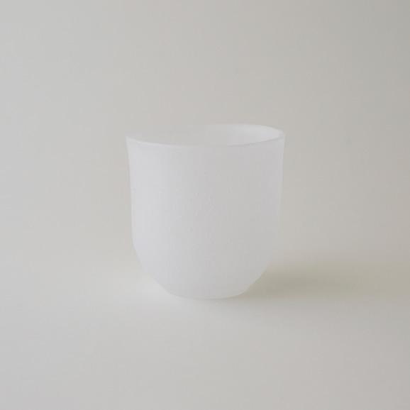 【写真】奥田康夫 丸杯-白-