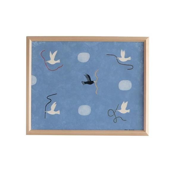 【写真】【一点物】秋山花 「A BLUE BIRD」