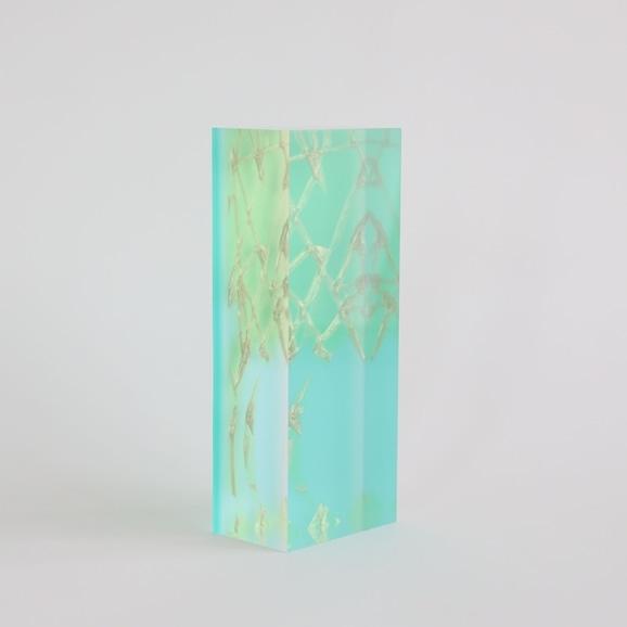 【写真】【一点物】外山翔 「Acrylic layer object 01」