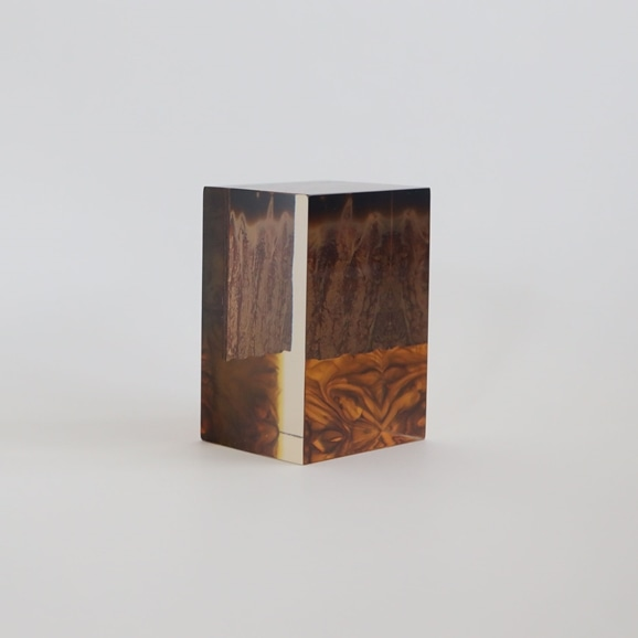 【写真】【一点物】外山翔 「Acrylic layer object 03」