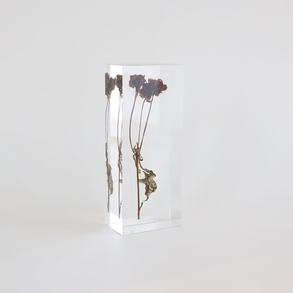 【写真】【一点物】外山翔 「Acrylic dryflower  04」