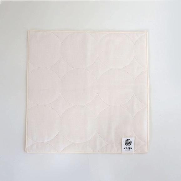 【写真】YARN HOME ハンカチ Milk