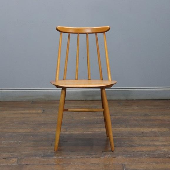 【写真】【ヴィンテージ家具】イルマリ・タピオヴァーラ Vintage Fanett Chair Natural