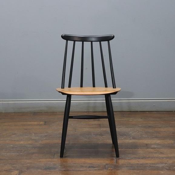 【写真】【ヴィンテージ家具】イルマリ・タピオヴァーラ Vintage Fanett Chair Black