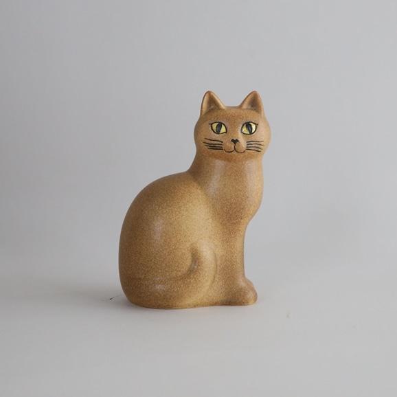 【写真】【定番品】Lisa Larson Cat MANS Brown Medium