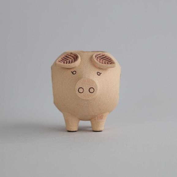 【写真】【定番品】Lisa Larson Piggy Candle Holder