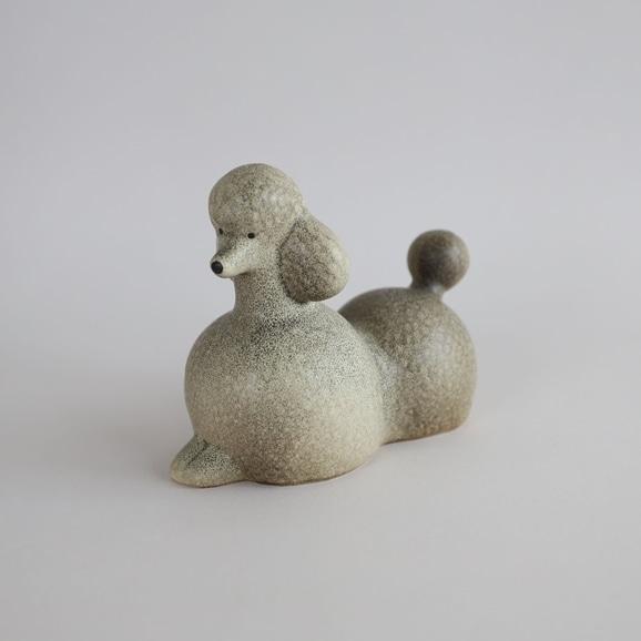 【写真】【定番品】Lisa Larson Poodle Grey Medium