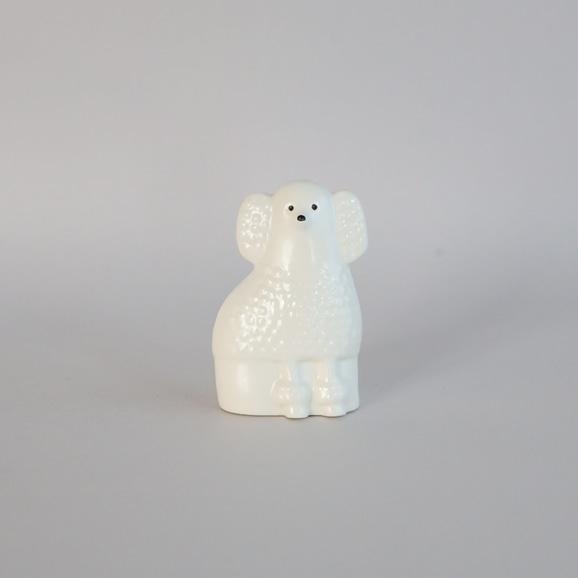 【写真】【定番品】Lisa Larson Poodle White Mini