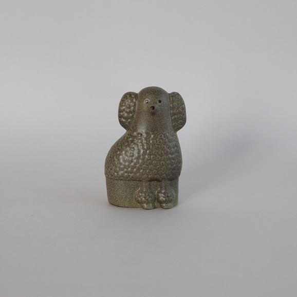 【写真】【定番品】Lisa Larson Poodle Grey Mini