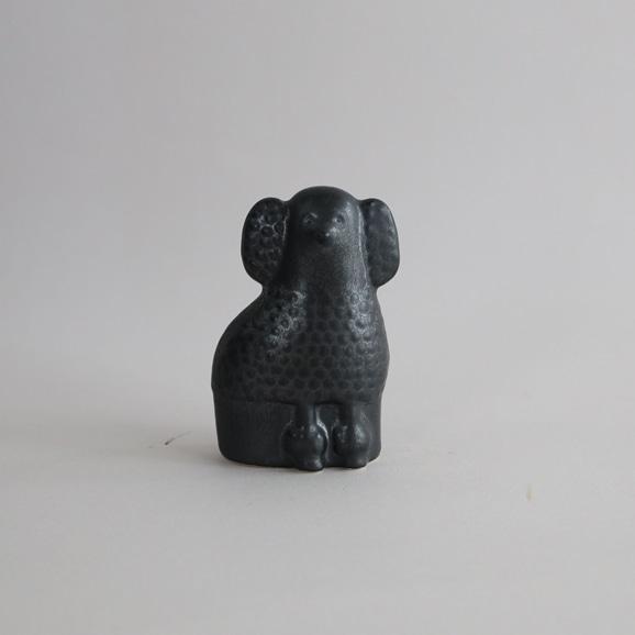 【写真】【定番品】Lisa Larson Poodle Black Mini