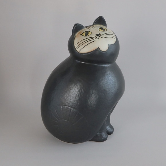 【写真】【定番品】Lisa Larson Cat MIA Black Maxi
