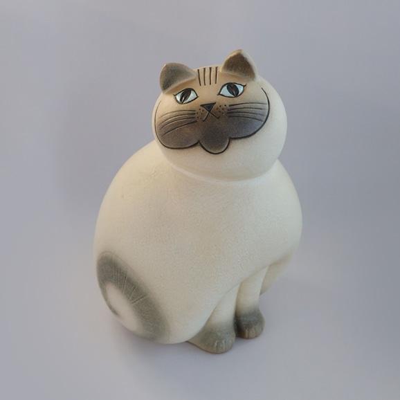 【写真】【定番品】Lisa Larson Cat MIA White Maxi