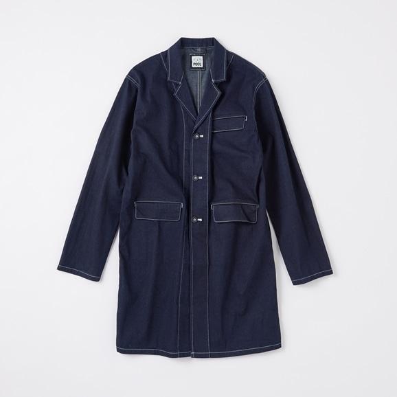 【写真】POOL いろいろの服 ジャパンデニムアトリエコート  2020AW【COAT COLLECTION】