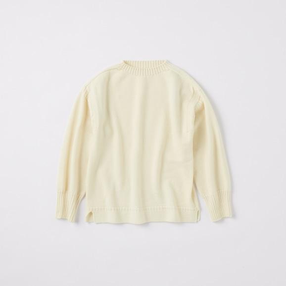 【写真】POOL いろいろの服 ノルマンディーセーター M アイボリー 2020AW