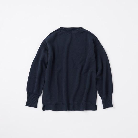 【写真】POOL いろいろの服 ノルマンディーセーター M ネイビー 2020AW