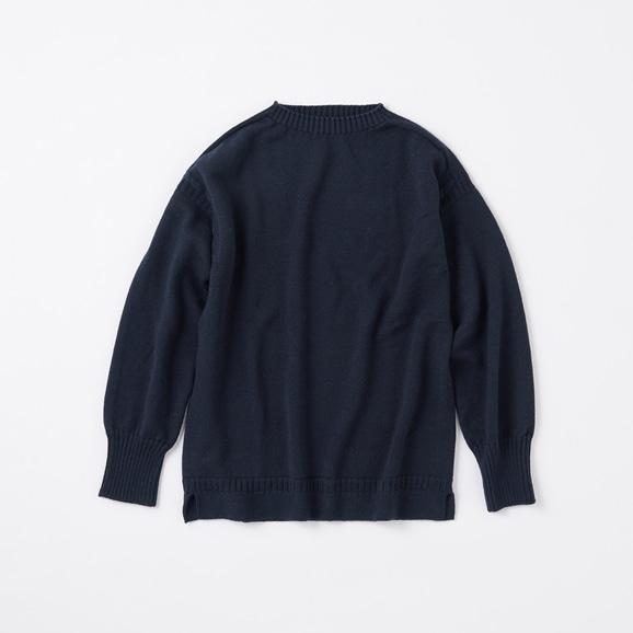 【写真】POOL いろいろの服 ノルマンディーセーター L ネイビー 2020AW