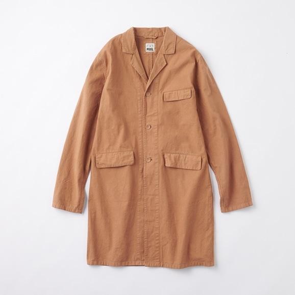 【写真】POOL いろいろの服 コットンアトリエコート ブラウン 2020AW【COAT COLLECTION】